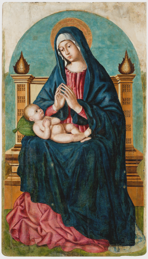 Panel of the Madonna of the Circumcision